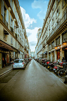 Ethereal - Streets of Paris  by Amel Dizdarevic