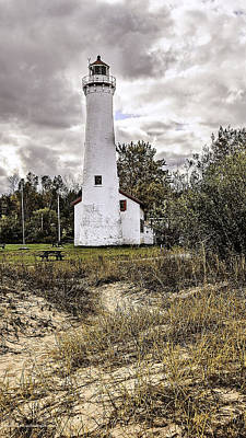 Photograph - Sturgeon Point Lighthouse by LeeAnn McLaneGoetz McLaneGoetzStudioLLCcom