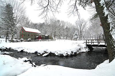 Old Mills Photograph - Sudbury Grist Mill I by Catherine Reusch Daley