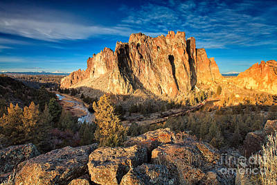 Photograph - Sunrise At Smith Rock by Stuart Gordon