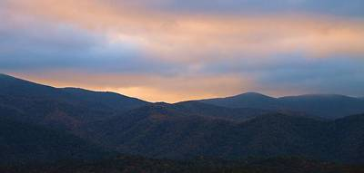 Sunrise Sky In Cades Cove Tennessee Art Print by Dan Sproul