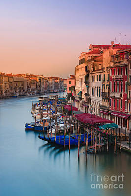 Sunrise In Venice Art Print by Henk Meijer Photography