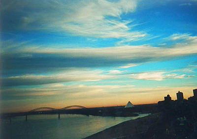 Photograph - Sunrise Over Memphis by Belinda Lee