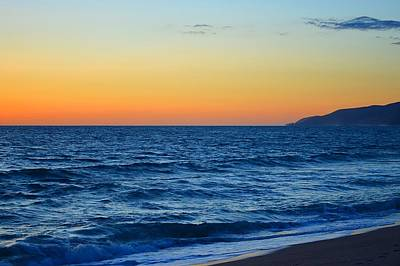 Point Dume Wall Art - Photograph - Sunset At Point Dume by Tommi Trudeau