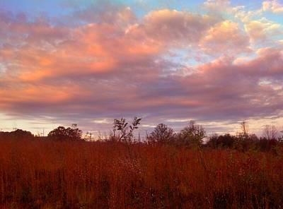 Sunset Art Print by Janice Spivey