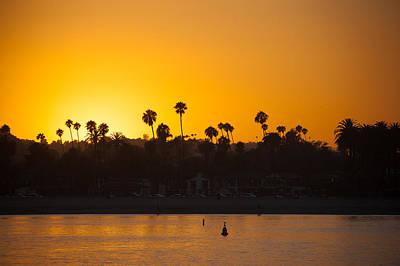 Sunset Santa Barbara Art Print by Ralf Kaiser