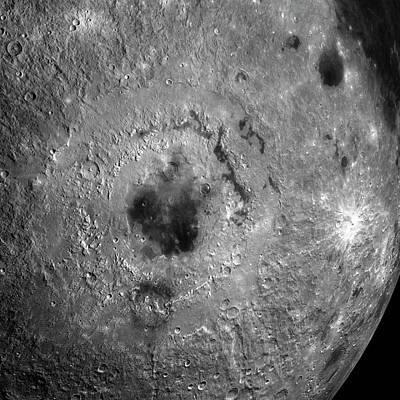 Surface Of The Moon Art Print by Detlev Van Ravenswaay