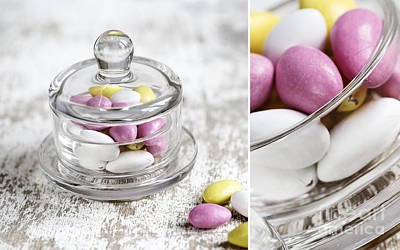 Candy Jar Photograph - Sweet Candy by Nailia Schwarz