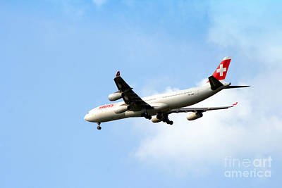 Photograph - Swissair by Doc Braham