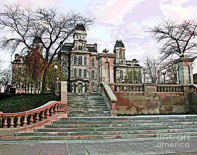 Photograph - Syracuse University by Larry Oskin