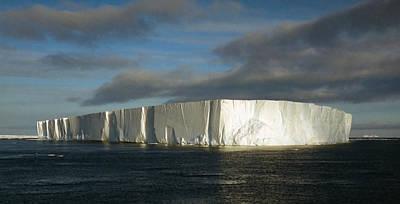 Tabular Iceberg Antarctica Art Print by Carole-Anne Fooks