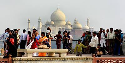 Taj Mahal  Art Print by Amanda Stadther