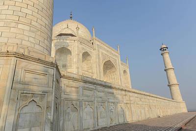Taj Mahal In Agra India Art Print by Brandon Bourdages