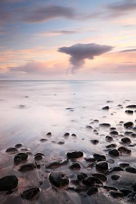 Photograph - Talisker Bay Sunset by Grant Glendinning