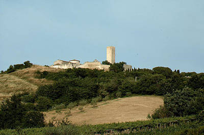 Tarquinia Landscape Art Print