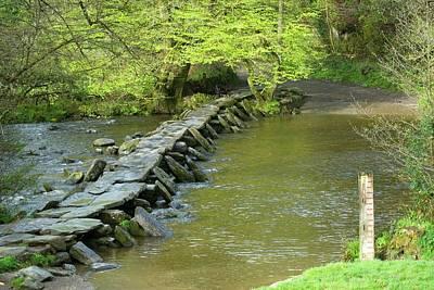 Exmoor Photograph - Tarr Steps by David Aubrey