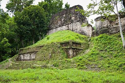 Tikal Photograph - Temples In Tikal National Park (parque by Michael Defreitas