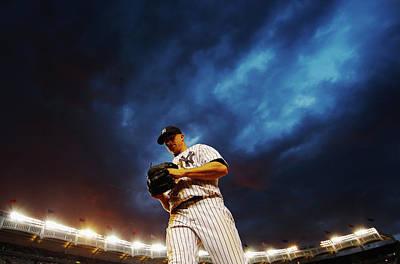 Photograph - Texas Rangers V New York Yankees by Al Bello
