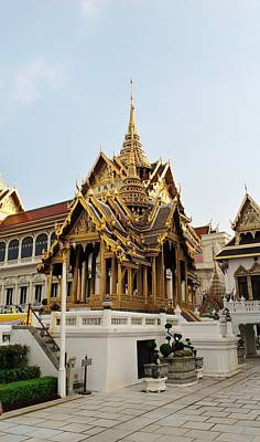 Ancient Photograph - Thai Kings Grand Palace by Sumit Mehndiratta