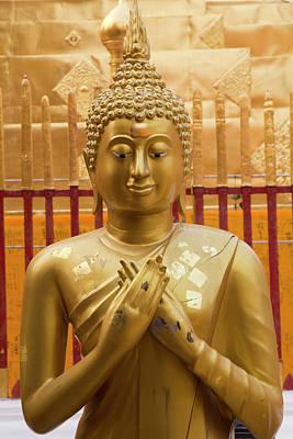 Thailand, Chiang Mai Province, Wat Phra Art Print