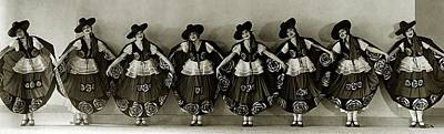 Photograph - The Albertina Rasch Girls In Rio Rita by Florence Vandamm
