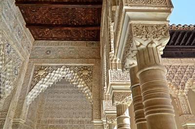 The Alhambra Palace Art Print by Kike Calvo