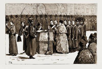 The Assassination Of Czar Alexander II Art Print