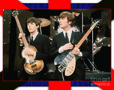 Ringo Mixed Media - The Beatles by Marvin Blaine