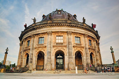 Photograph - The Bode Museum Berlin Germany by Michal Bednarek