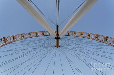 Airways Photograph - The British Airways London Eye In London England by Robert Preston