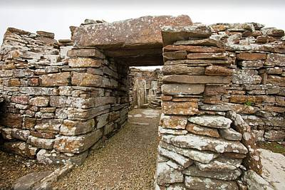 Lintels Photograph - The Broch Of Borwick by Ashley Cooper
