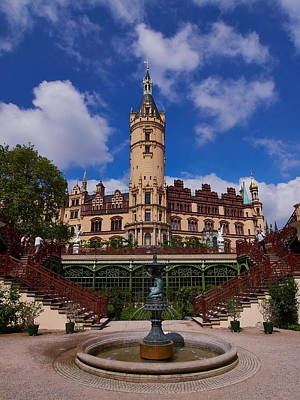 Photograph - The Castle Of Schwerin by Jouko Lehto