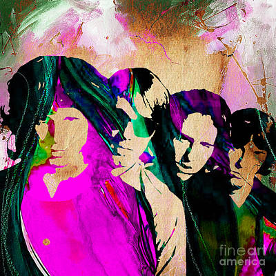 Rock Art Mixed Media - The Doors Collection by Marvin Blaine