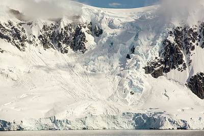 The Gerlache Strait Print by Ashley Cooper