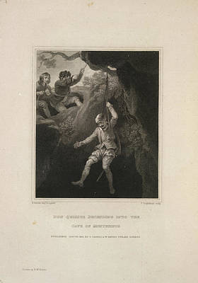 The History Of Don Quixote Art Print by British Library