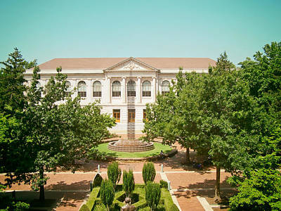 University Of Arkansas Photograph - The Old Main - University Of Arkansas by Mountain Dreams