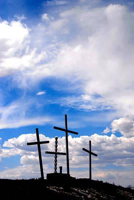 The Old Rugged Cross Albuquerque New Mexico Original by John Hanou
