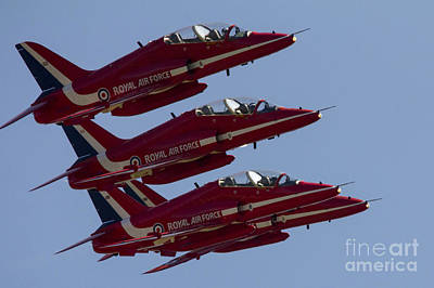 The Red Arrows Art Print by J Biggadike