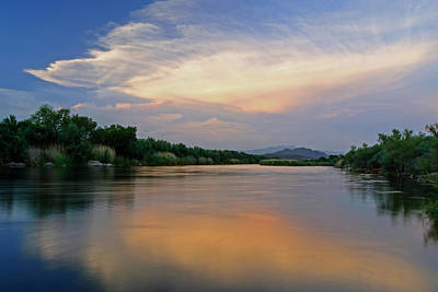 Photograph - The Salt River by Tam Ryan