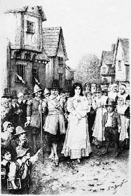 The Scarlet Letter Art Print by Granger
