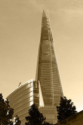 Photograph - The Shard by Chris Day
