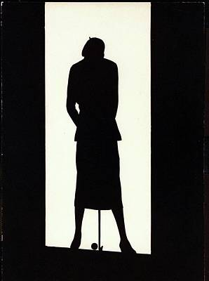 Photograph - The Silhouette Of A Woman by  Barre