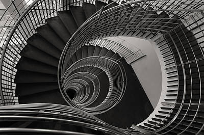 Flight Of Stairs Photograph - The Staircase by Roni Chastain
