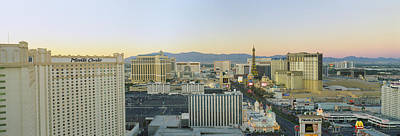 Sunset Strip Wall Art - Photograph - The Strip, Las Vegas, Nevada, Usa by Panoramic Images