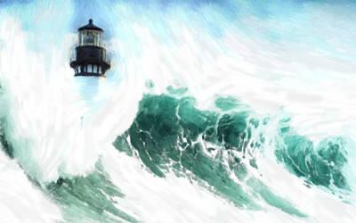 The Wave Art Print by Steve K