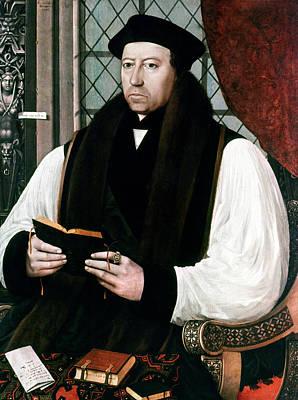 Gerlach Painting - Thomas Cranmer (1489-1556) by Granger
