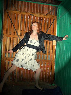Photograph - Tiffany In Lift Of Insanity by Cyryn Fyrcyd