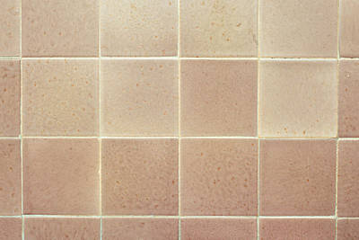 Ceramic Tile Photograph - Tiles Background by Tom Gowanlock