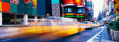 Crosswalks Photograph - Times Square, Nyc, New York City, New by Panoramic Images