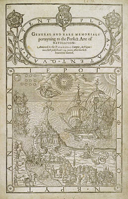 Title Page Art Print by British Library